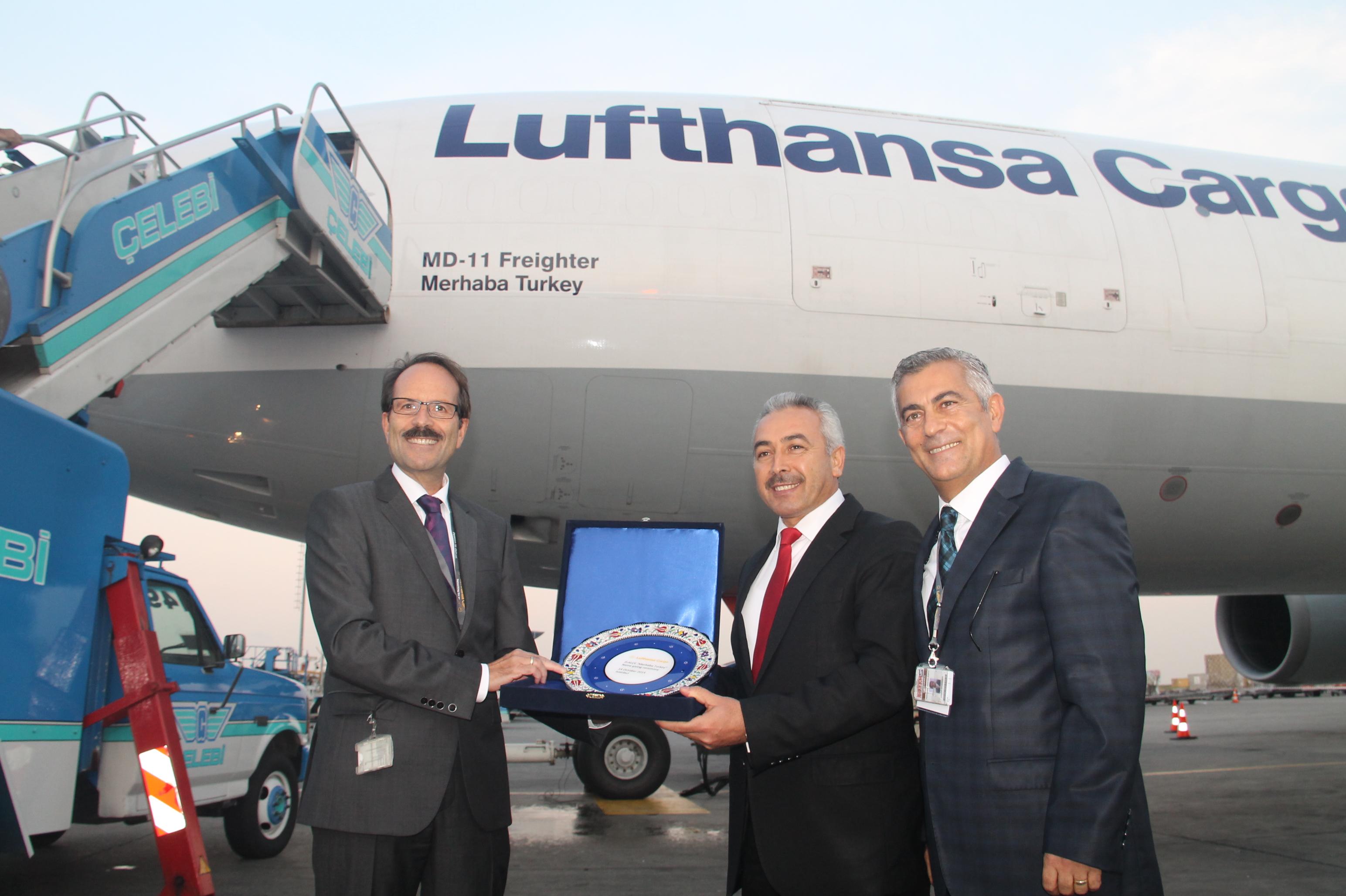 Lufthansa'nın yeni kargo uçağı Merhaba Turkey galerisi resim 10