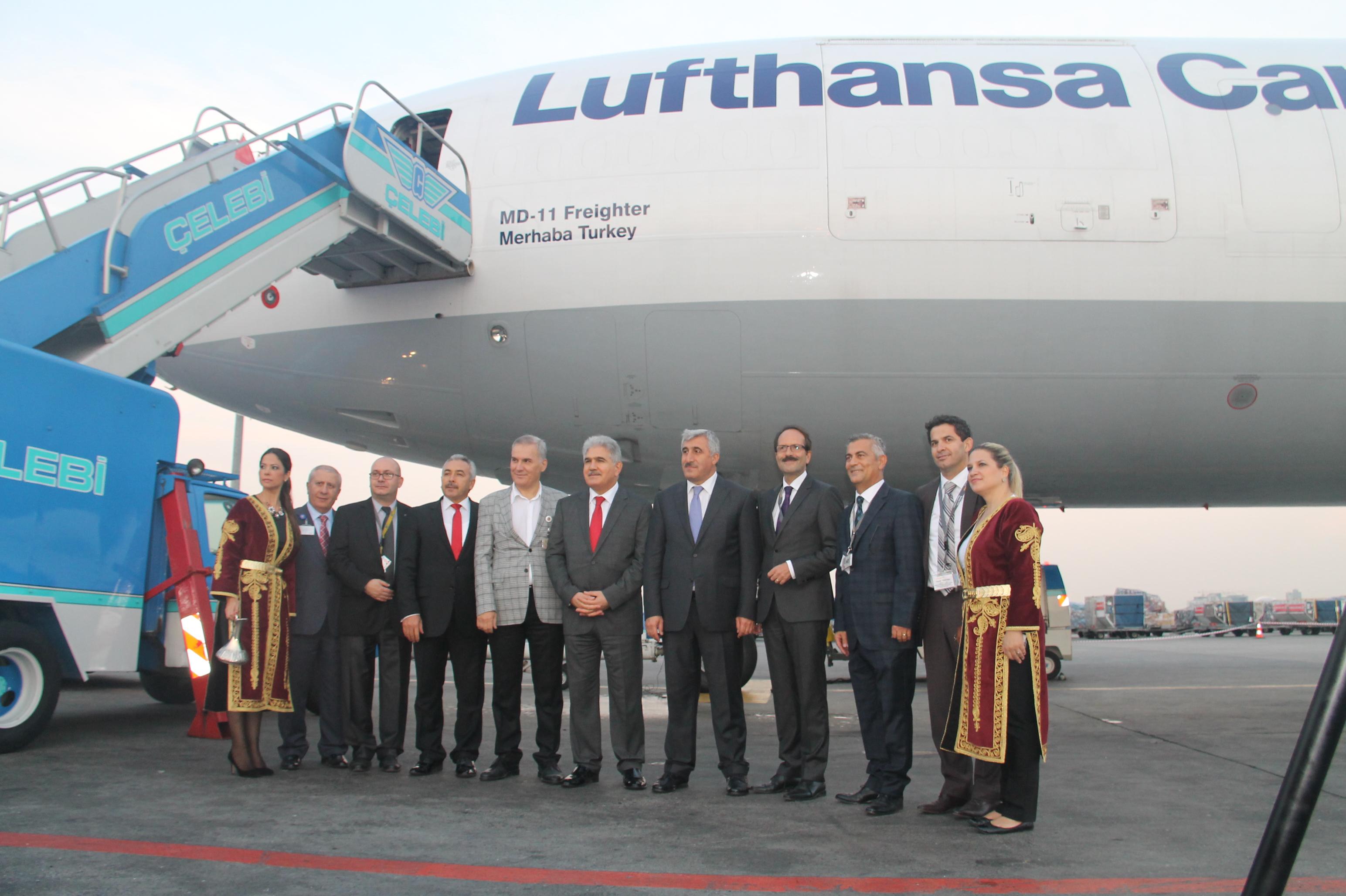 Lufthansa'nın yeni kargo uçağı Merhaba Turkey galerisi resim 11