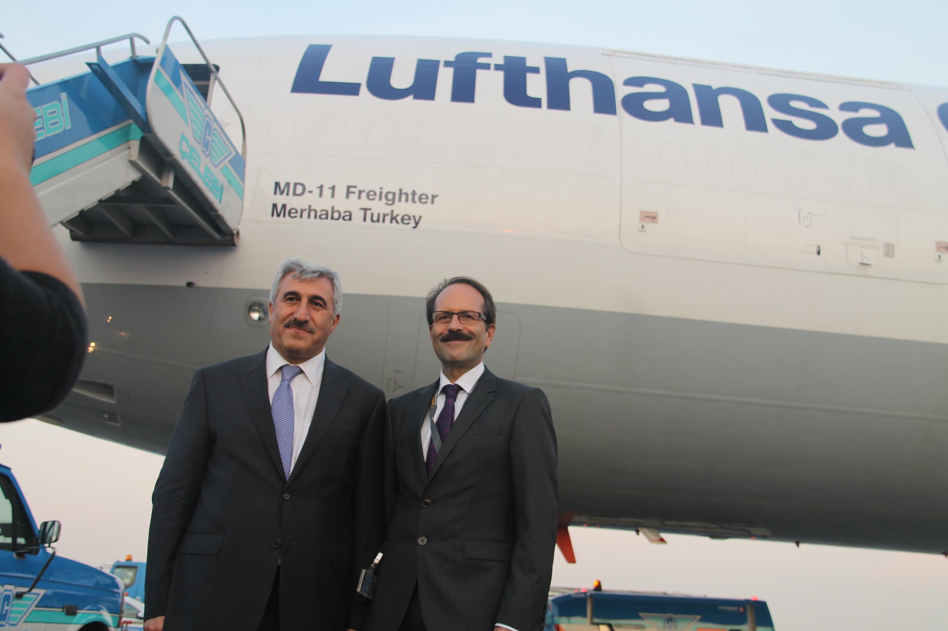 Lufthansa'nın yeni kargo uçağı Merhaba Turkey galerisi resim 8