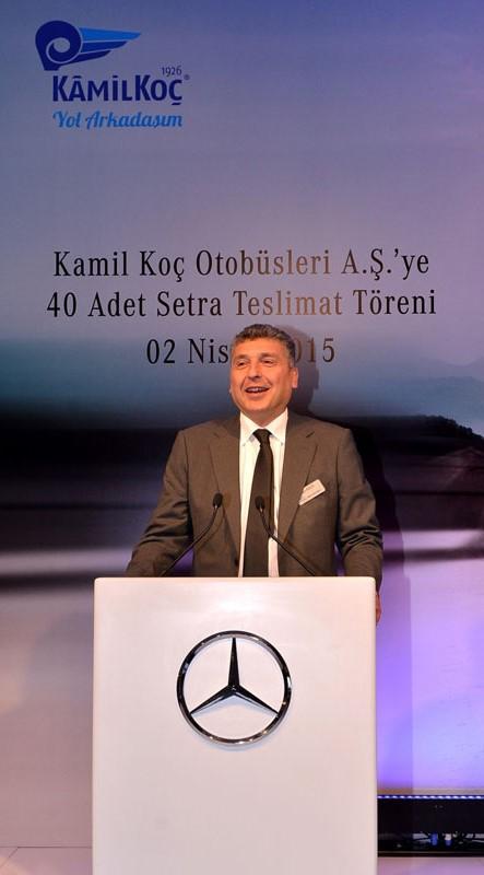 Mercedes-Benz'den Kamil Koç'a 40 Setra galerisi resim 5