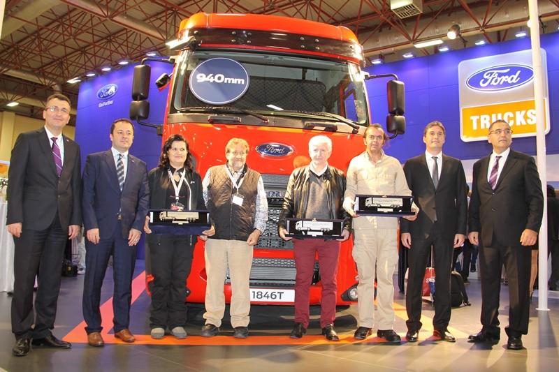 Ford Trucks 1846T Midilli Çekici Logitrans'ta galerisi resim 18
