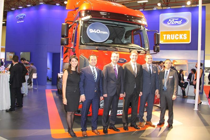 Ford Trucks 1846T Midilli Çekici Logitrans'ta galerisi resim 19