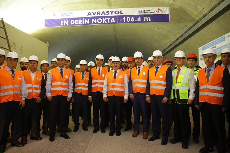Avrasya Tüneli, trafik yükünü almaya geliyor galerisi resim 3