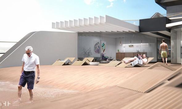 Plajı bile olan bu lüks yat sizi büyüleyecek galerisi resim 5