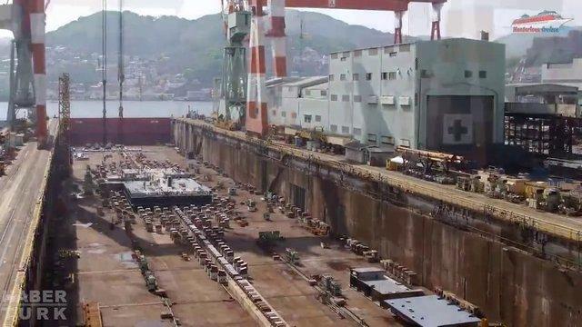 Devasa gemiler böyle yapılıyor! galerisi resim 1