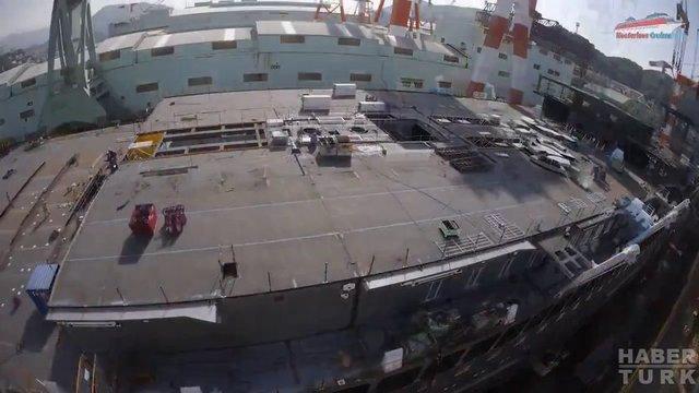 Devasa gemiler böyle yapılıyor! galerisi resim 23