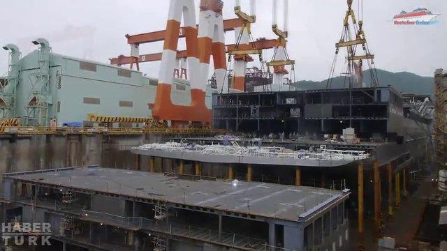 Devasa gemiler böyle yapılıyor! galerisi resim 25