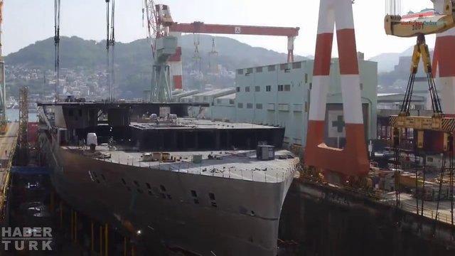 Devasa gemiler böyle yapılıyor! galerisi resim 30