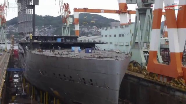 Devasa gemiler böyle yapılıyor! galerisi resim 33