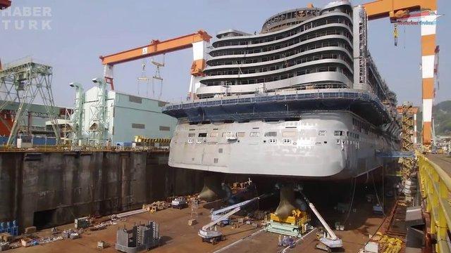 Devasa gemiler böyle yapılıyor! galerisi resim 44
