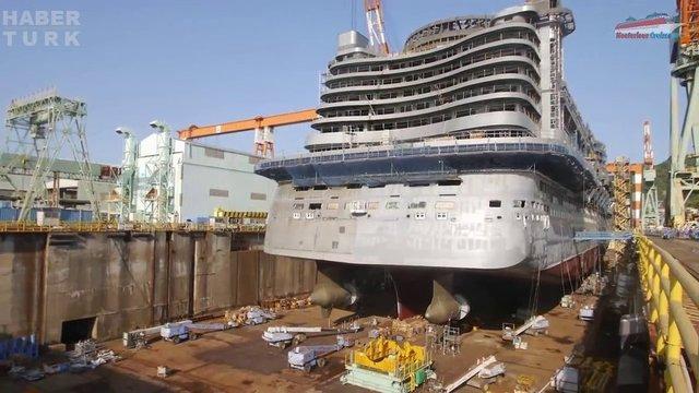 Devasa gemiler böyle yapılıyor! galerisi resim 45