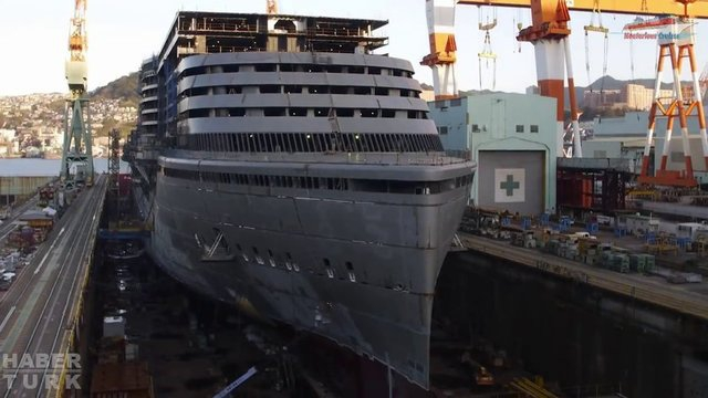 Devasa gemiler böyle yapılıyor! galerisi resim 49