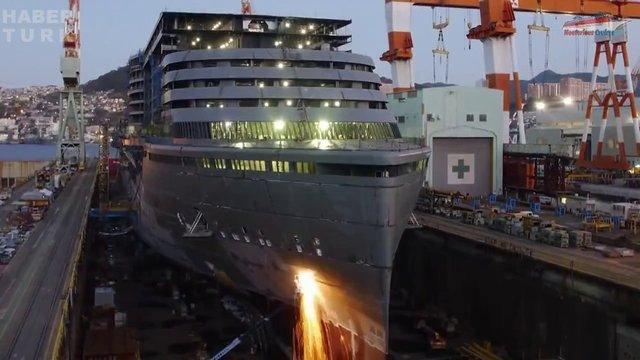 Devasa gemiler böyle yapılıyor! galerisi resim 50