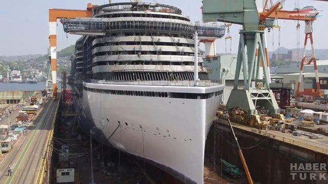 Devasa gemiler böyle yapılıyor! galerisi resim 54