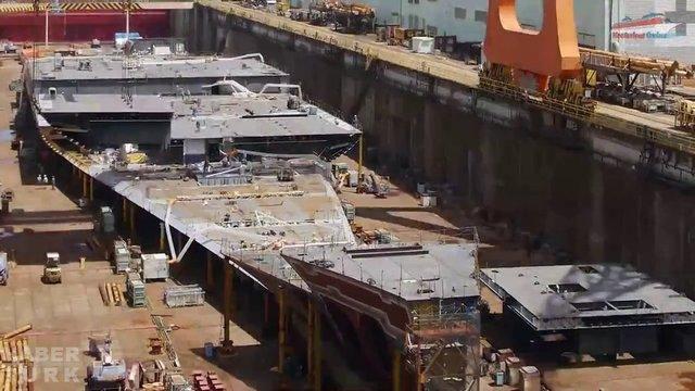 Devasa gemiler böyle yapılıyor! galerisi resim 6