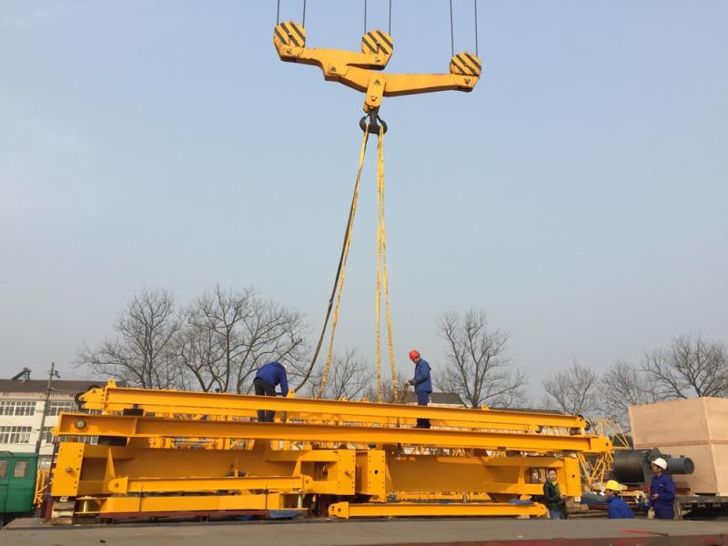 Gama Intermodal, Zoomlion'un dev kule vinçlerini taşıdı galerisi resim 1