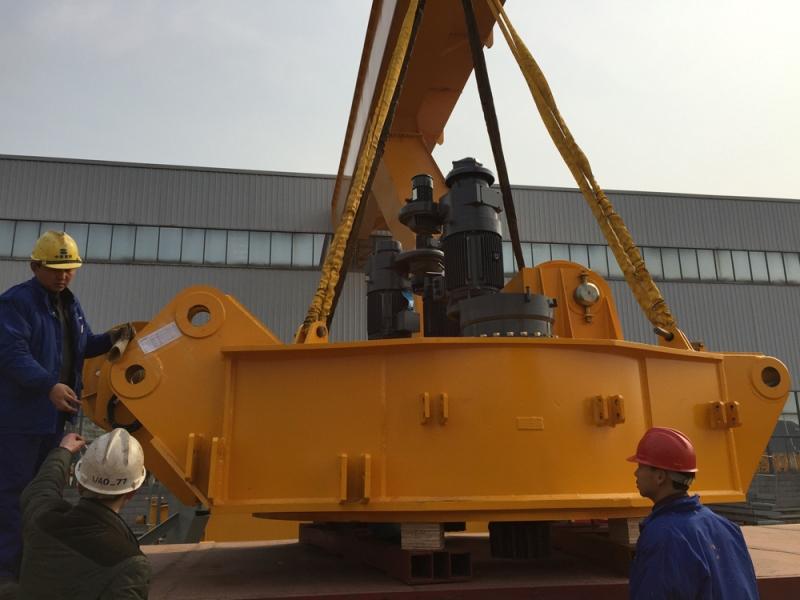 Gama Intermodal, Zoomlion'un dev kule vinçlerini taşıdı galerisi resim 3