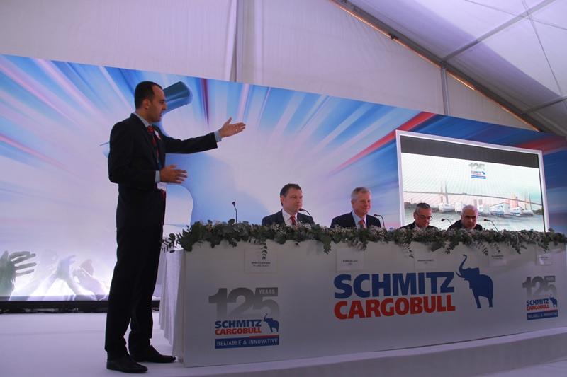 Schmitz Cargobull Türkiye'deki fabrikasını açtı galerisi resim 10