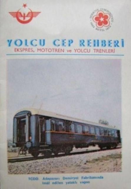 Cumhuriyet dönemi renkli ray serüvenimizin kimi belgeleri (1) galerisi resim 23
