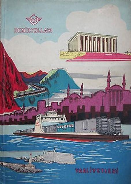 Cumhuriyet dönemi renkli ray serüvenimizin kimi belgeleri (1) galerisi resim 8