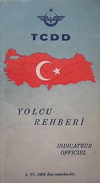 Cumhuriyet dönemi renkli ray serüvenimizin kimi belgeleri (1) galerisi resim 9