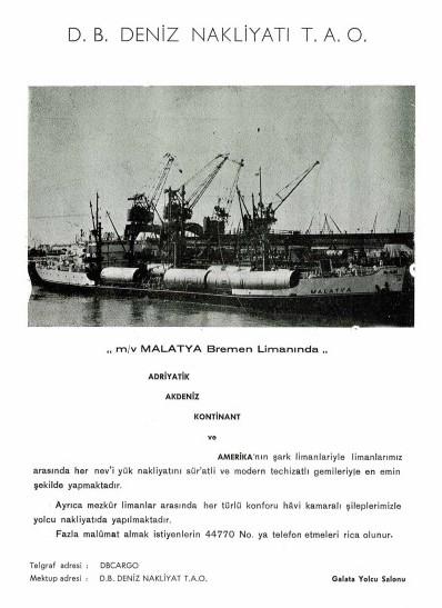 Kabotaj Kanunu Sonrası Denizciliğimize Ait Birtakım Renkli Belgeler galerisi resim 54