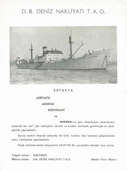 Kabotaj Kanunu Sonrası Denizciliğimize Ait Birtakım Renkli Belgeler galerisi resim 55