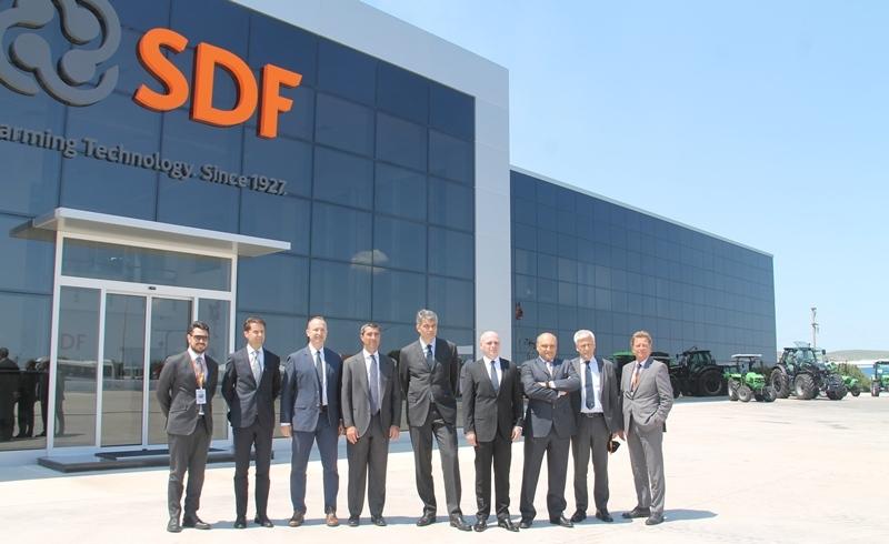 SDF ( Same, Deutz-Fahr) Traktör Fabrikası Yenilendi galerisi resim 4