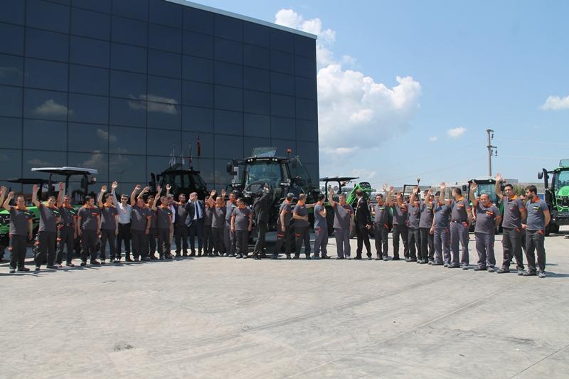 SDF ( Same, Deutz-Fahr) Traktör Fabrikası Yenilendi galerisi resim 7