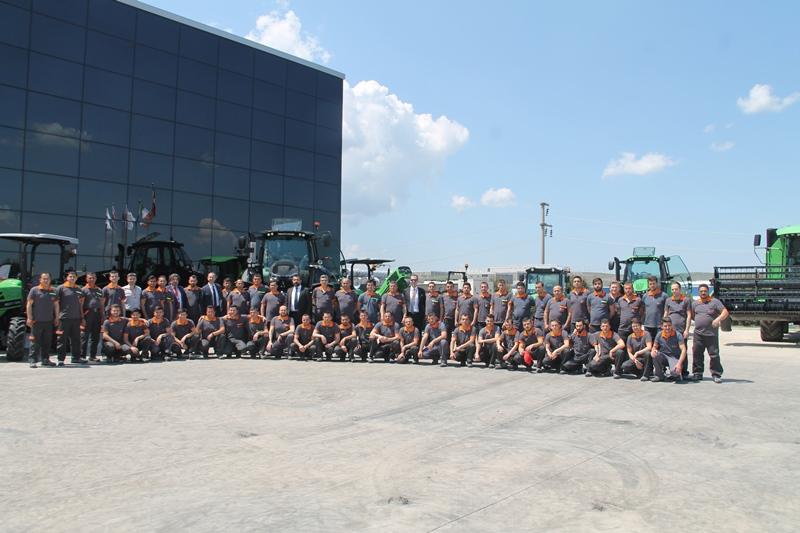 SDF ( Same, Deutz-Fahr) Traktör Fabrikası Yenilendi galerisi resim 8