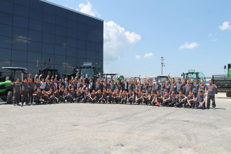 SDF ( Same, Deutz-Fahr) Traktör Fabrikası Yenilendi galerisi resim 9