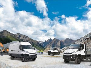 İşte IVECO'nun all road ve of road araçları