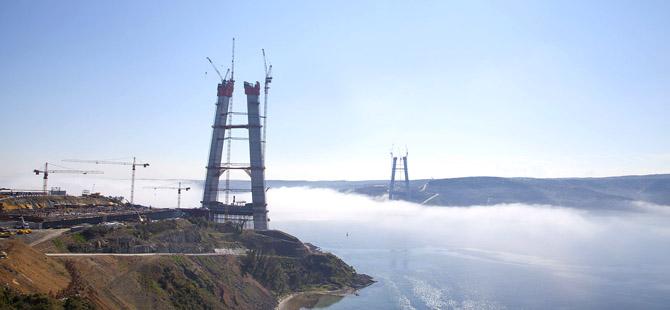 3. köprü sona yaklaşıyor