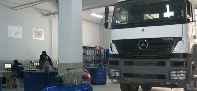 Mercedes Laboratuvarı Açıldı