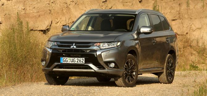 Mitsubishi Outlander PHEV'den rekor satış