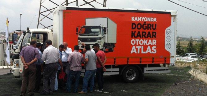 Otokar'ın Atlas'ı, Türkiye turunu sürdürüyor