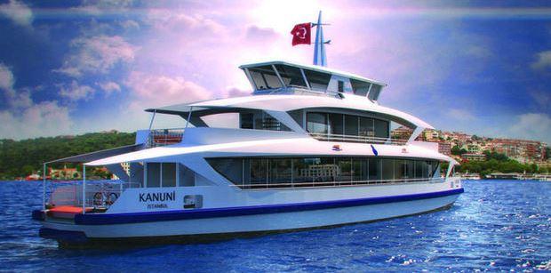 Yeni gemi ile Üsküdar-Beşiktaş 4 dakika