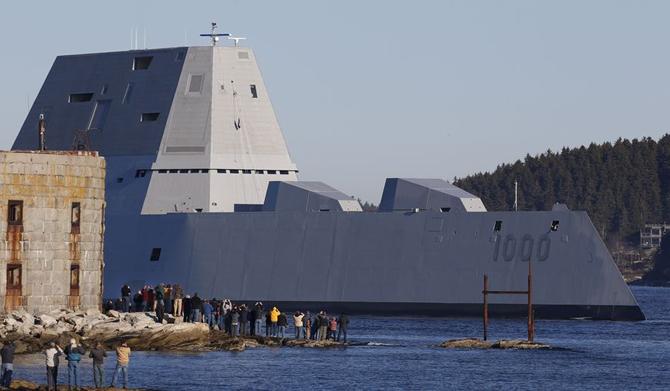 3 milyar dolarlık hayalet gemi göreve başlıyor