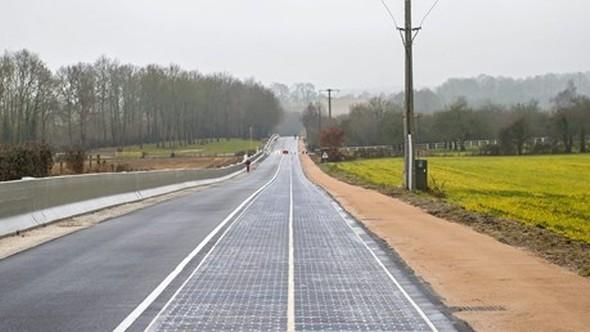 Asfalt dönemi bitiyor: Güneş enerjili ilk yol
