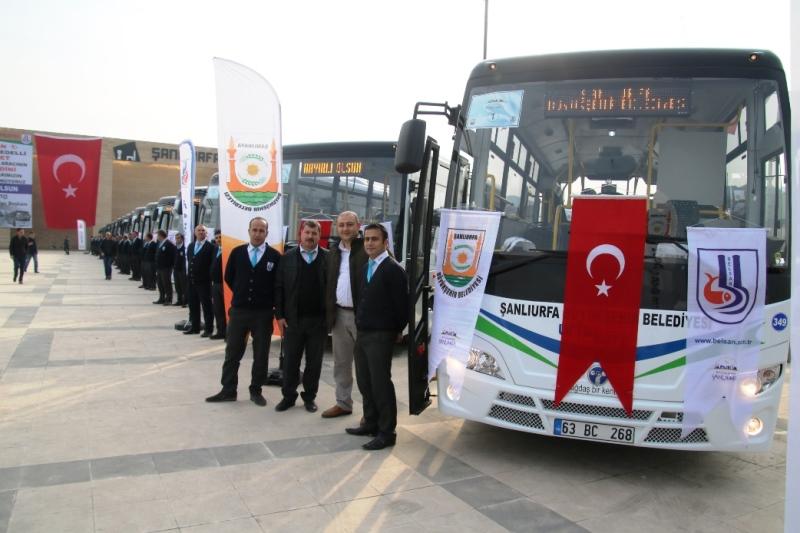 TEMSA'dan Şanlıurfa Belediyesi'ne 37 Opalin City