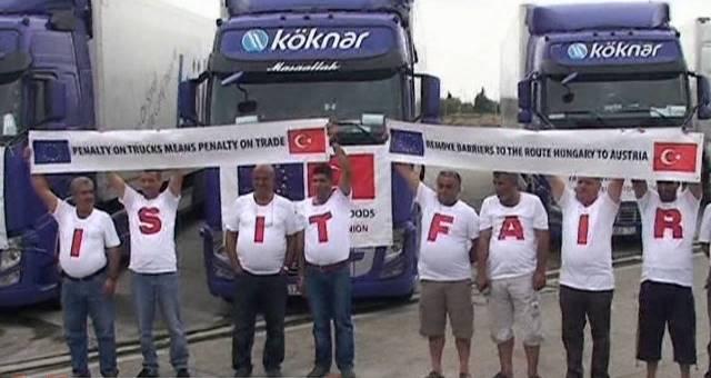 MÜJDE: 'Türk tırlarından geçiş ücreti alınamaz' kararı