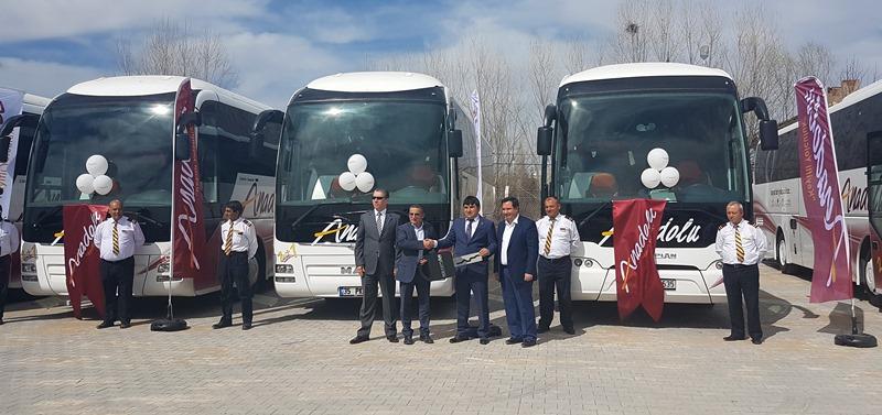 Anadolu Ulaşım, 18 adet MAN ve Neoplan aldı