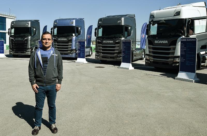 Yeni nesil Scania Türkiye'de