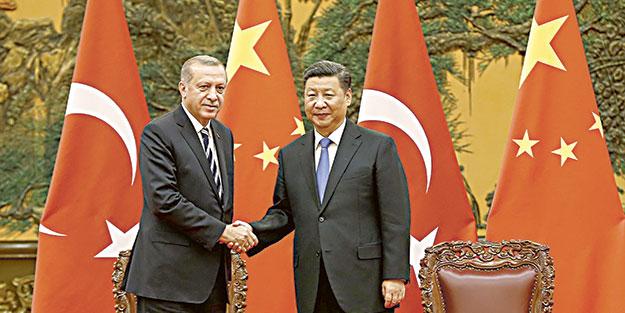 Çin'de trilyon dolarlık işbirliği