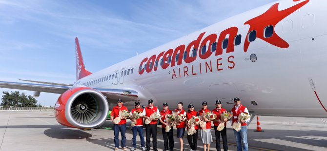 Corendon filosunu Boeing 737-800NG ile genişletti