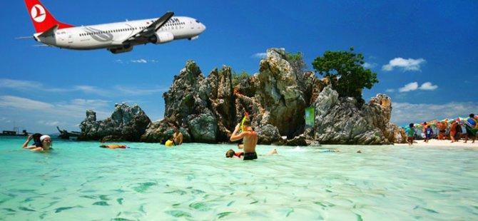 THY'den, Tayland'ın Phuket adasına tarifeli sefer