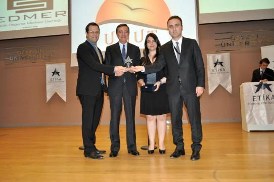 UPS'ye Türkiye'nin en etik şirketi ödülü