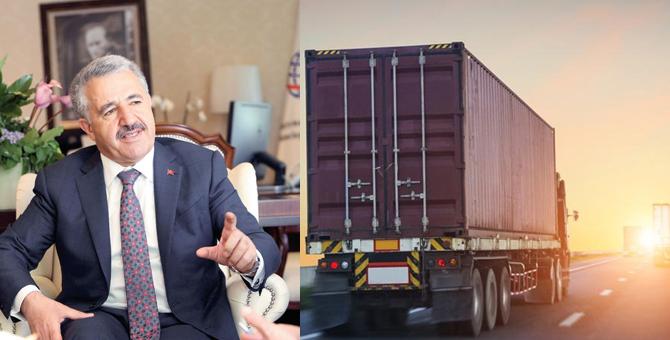 Karayolu taşımacılığında belge sayısı 13'e iniyor
