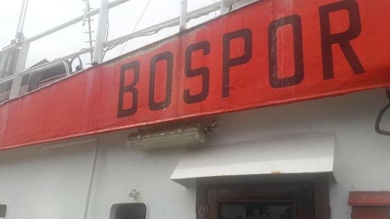 Kırım'a denizci sevk eden gemiye el konuldu