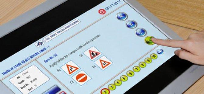 Ehliyet sınavı dijitale taşınıyor